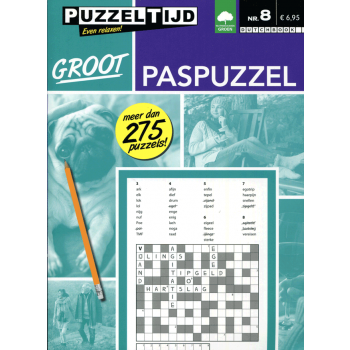 Puzzelboek groot paspuzzel nr. 008 Puzzeltijd