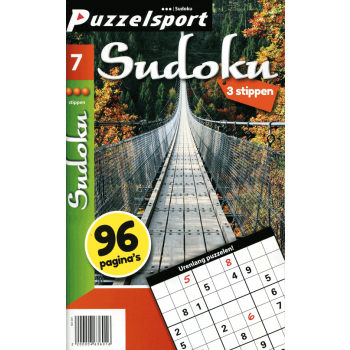 Puzzelsport 96 P. Sudoku 3 stippen nr. 007