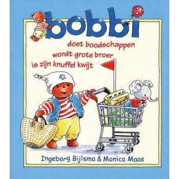 Bobbi doet boodschappen, wordt grote broer, is zijn knuffel kwijt