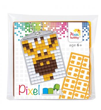Pixelhobby sleutelhanger startset giraf