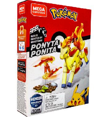 Pokemon Mega Construx bouwstenen Ponyta