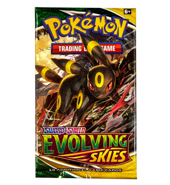 Pokemon TCG – Sword & Shield Evolving Skies Booster Pack