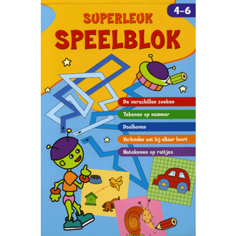 Superleuk speelblok 4-6