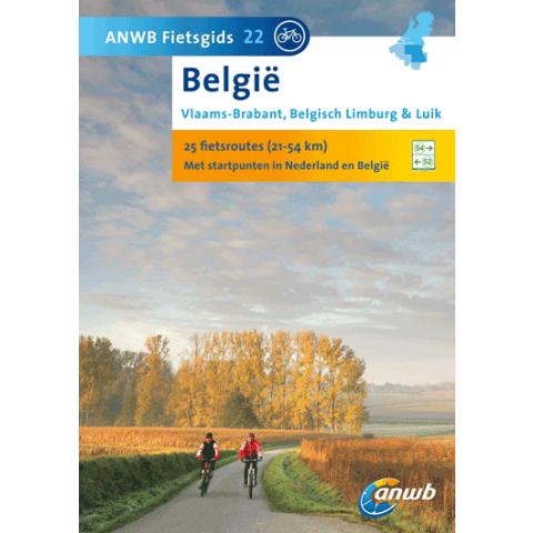 ANWB Fietsgids 22 Vlaams Brabant Belgisch Limburg & Luik