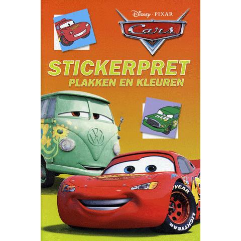 Cars Stickerpret Plakken en Kleuren