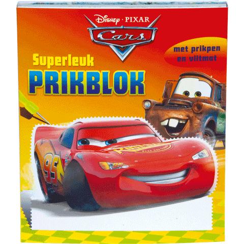 Reuzeleuk Prikblok Cars