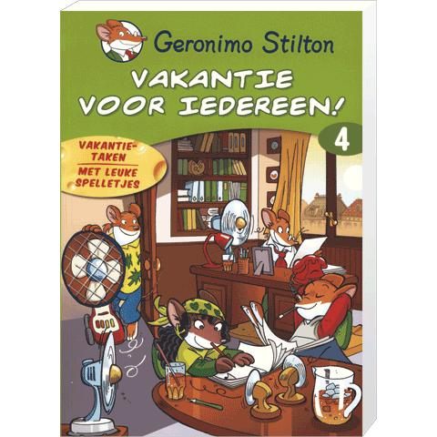 Geronimo Vakantieboek voor Iedereen nr 4