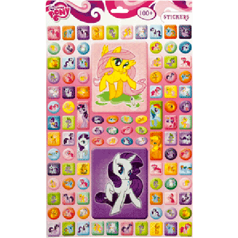 Stickervel My Little Pony A3
