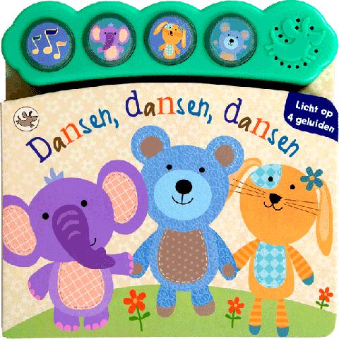 Dansen, dansen, dansen - geluidboekje
