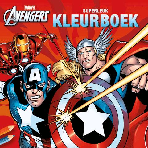 The Avengers Superleuk Kleurboek