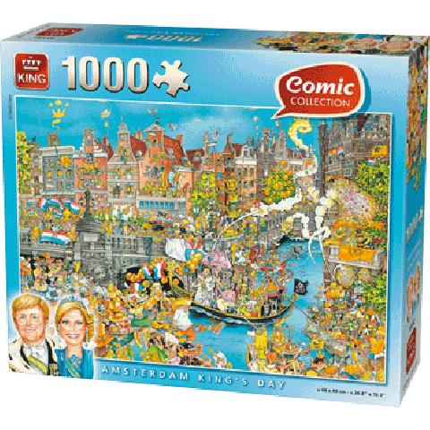 PUZZLE COMIC KINGS DAY 1000 PCS.