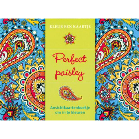 Kleur een kaartje: Perfect Paisley
