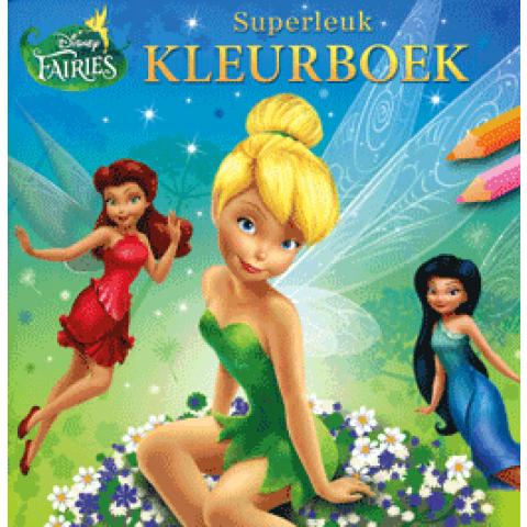 Superleuk Kleurboek Fairies