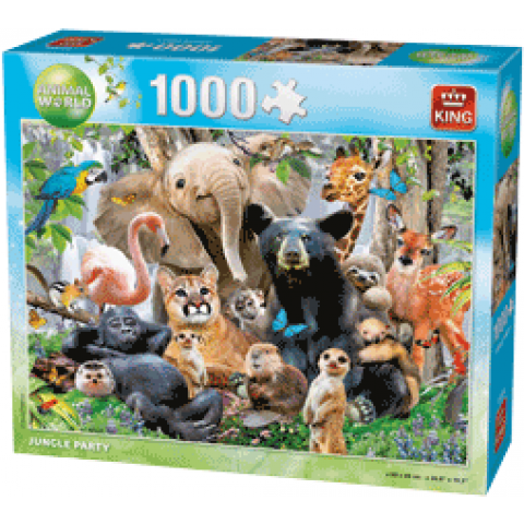 Puzzle Jungle Party, 1000 stukjes