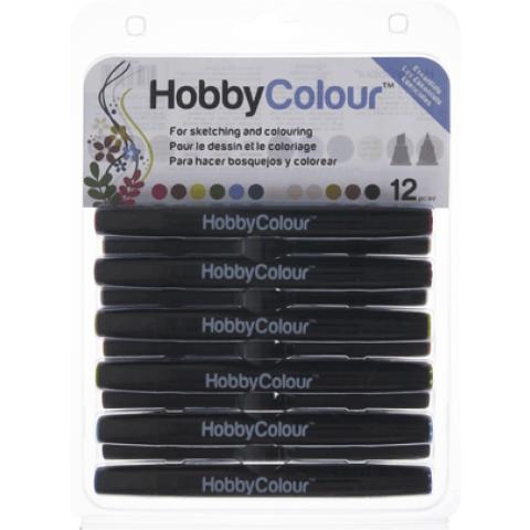 HOBBYCOLOUR STIFTEN 12 STUKS ESSENTIALS