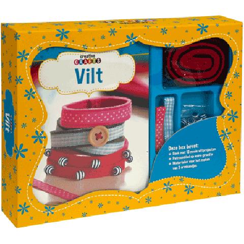 Boek box Vilt