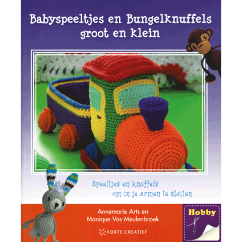 Babyspeeltjes en Bungelknuffels groot en klein haken