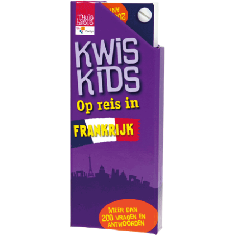 Kwis Kids Op reis in Frankrijk