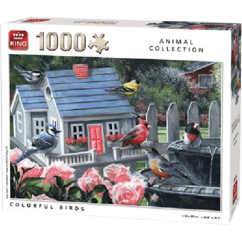 PUZZLE COLORFUL BIRDS 1000 PCS
