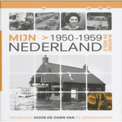 Mijn Nederland (incl 2 dvd's) In Woord en Beeld - 1950-1959