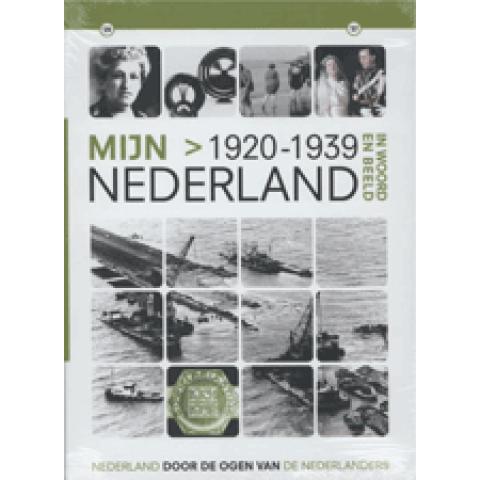 Mijn Nederland (incl 2 dvd's) In Woord en Beeld - 1920-1939