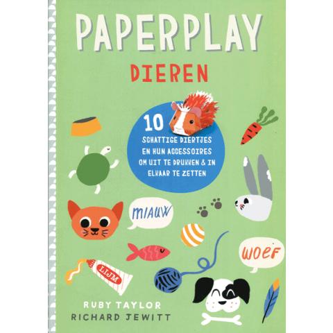 Paperplay dieren