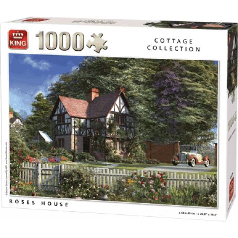 Legpuzzel Roses House (1000 pcs)