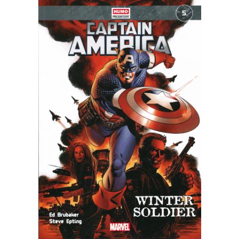Marvel Stripboek (5) Captain America - Winter Soldier
