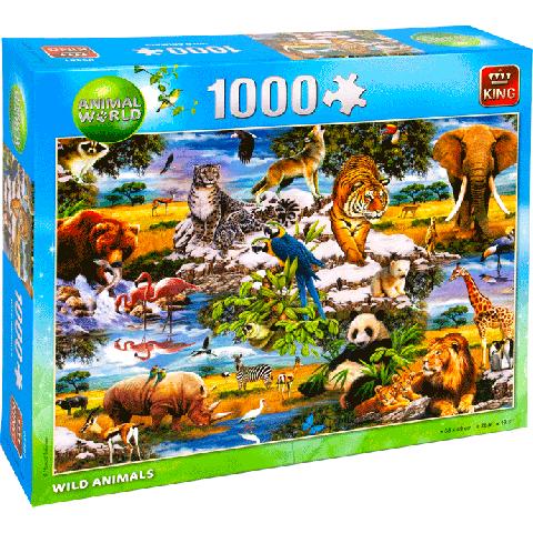 Legpuzzel Wild Animals (1000 stukjes)
