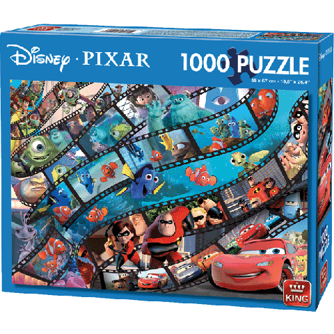 Puzzel Disney Pixar Movie Magic (1000 stukjes)