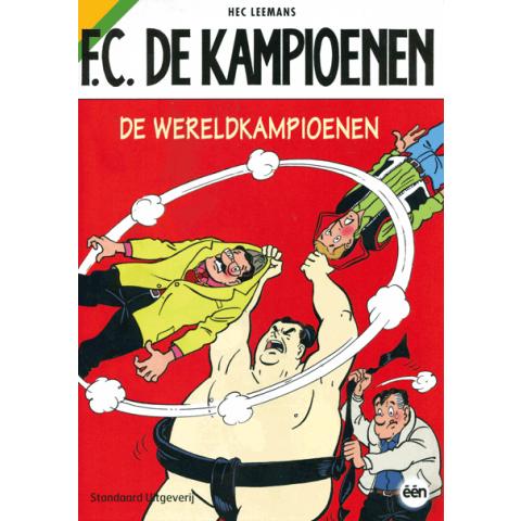 Strip FC de kampioenen de wereld kampioenen