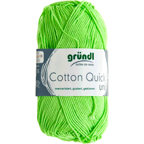 Cotton quick uni kiwi 50 gram