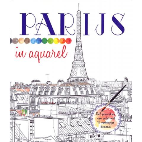 Parijs in Aquarel