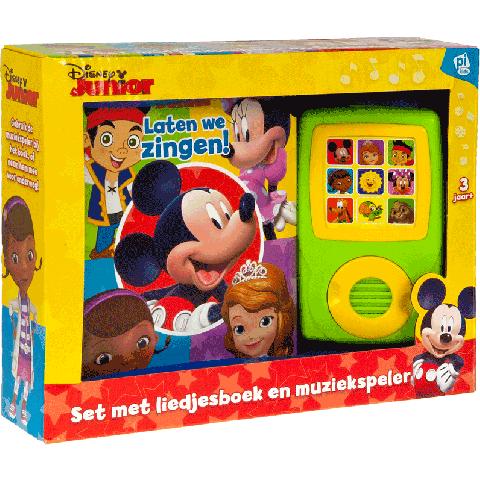 Disney junior boek en muziekspeler