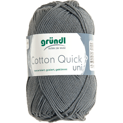 COTTON QUICK UNI 110 MUISGRIJS 50GR