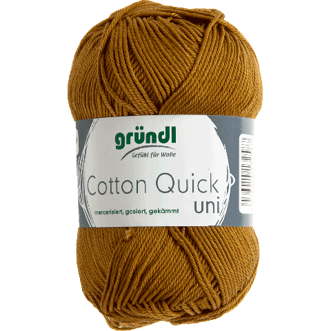 COTTON QUICK UNI 123 CARAMEL 50GR