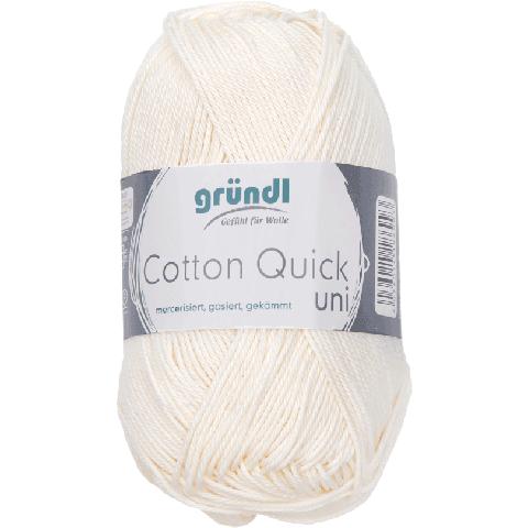 Cotton Quick Uni 132 ECRU 50GR