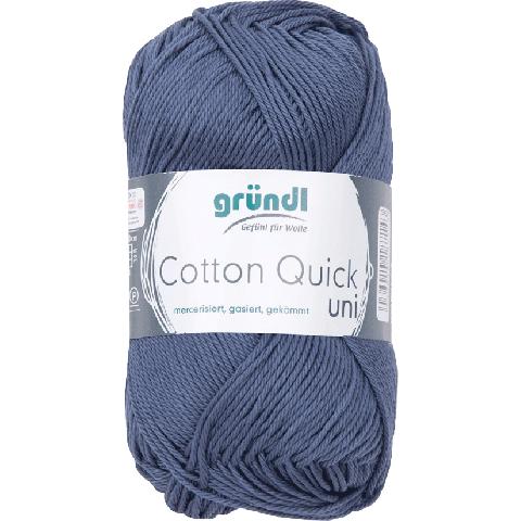 Cotton Quick Uni 137 GRIJS BLAUW 50GR