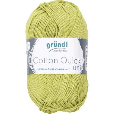 Cotton Quick Uni 140 LICHT GROEN 50GR