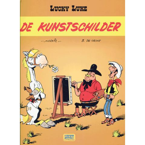 Lucky Luke de kunstschilder