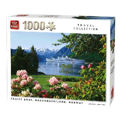 Puzzel Cruise Boat, Norway (1000 stukjes)