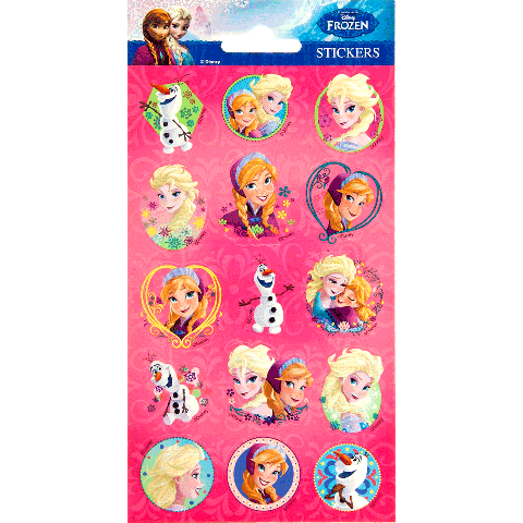 Sticker sheet paper Frozen