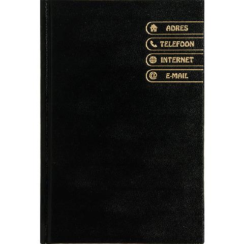 Adresboek Zwart