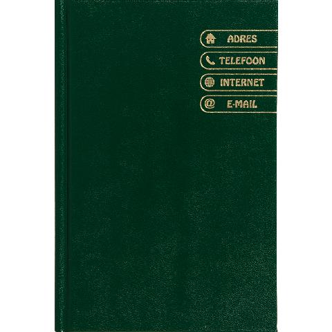Adresboek groen