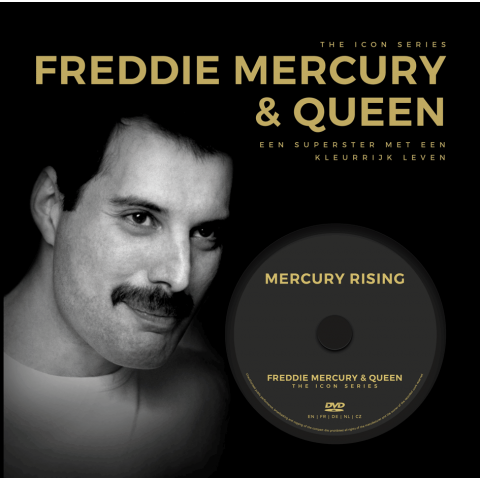 The Icon Series: Freddie Mercury & Queen (boek+dvd)