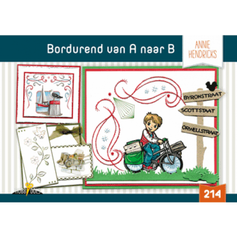 Hobbydols 214 Bordurend van A naar B (Annie Hendricks)