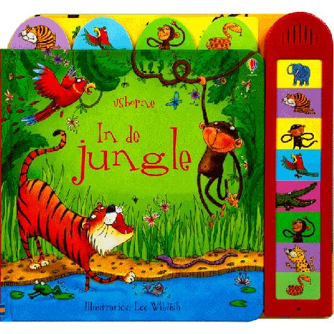 In de Jungle - Geluidenboek
