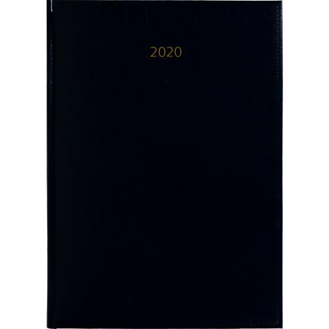 Weektimer agenda A4 2020 donkerblauw nr 252