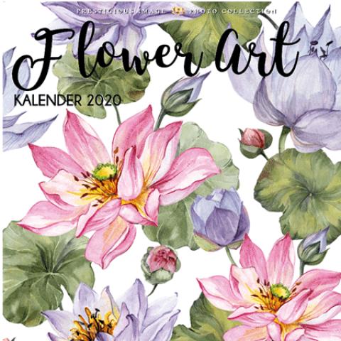Kalender 2020: Flower art