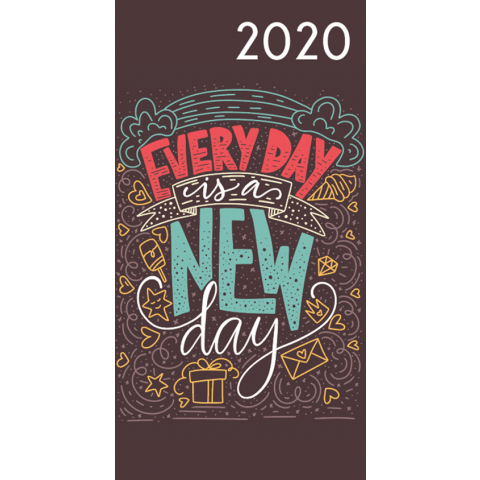 Agenda 2020: Teksten (Every day is a new day)